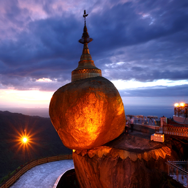 Golden Rock | Top 5 Myanmar