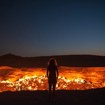 Darvaza Gas Crater | Top 3 Turkmenistan