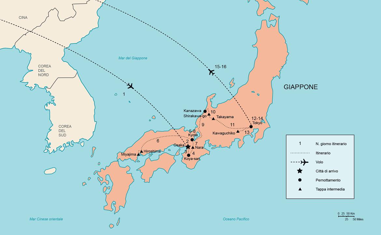 Cartina Muta Del Giappone.Tour Giappone Special Viaggio In Giappone