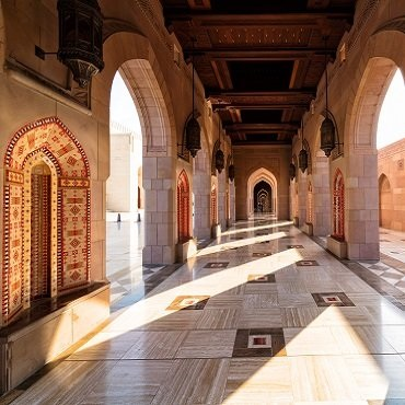 Sultan Qaboos Mosque | Top 3 Oman